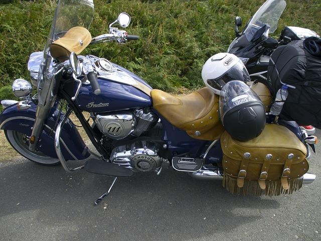 indiánská motorka