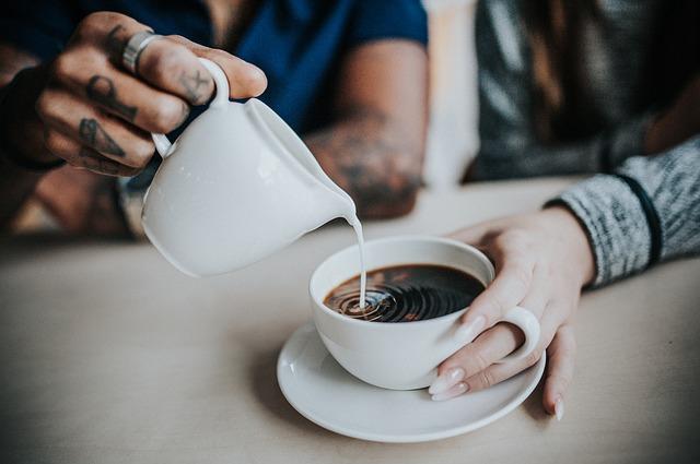 mléko do kávy