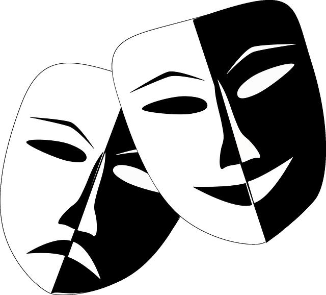 masky komedie a tragédie