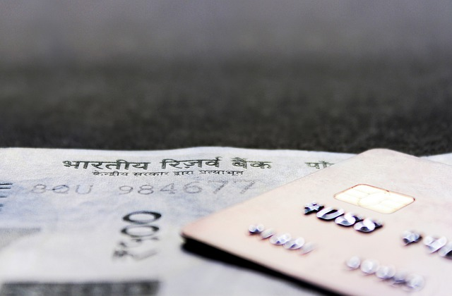 kreditní karta, detail